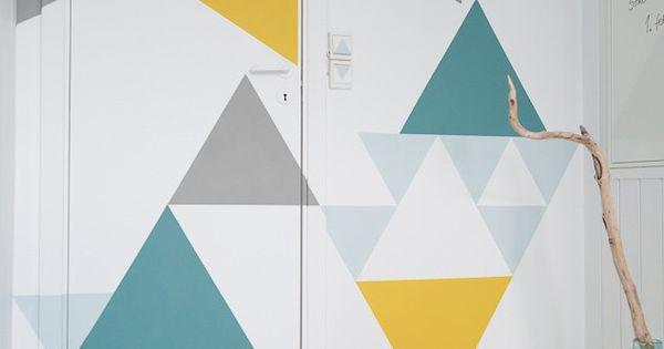 25 id es d co avec des formes g om triques formes for Deco forme geometrique