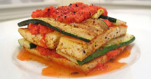 Asian tofu lasagna   Fair-weather Vegetarians   Pinterest   Tofu ...