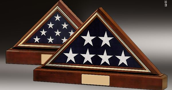 us flag shadow box