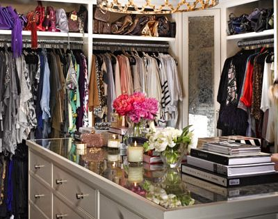 what's a dream house without a dream closet?