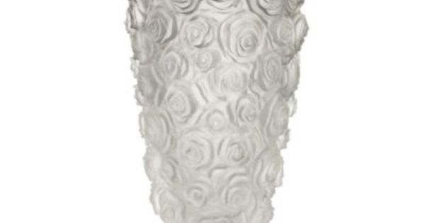 Monique Lhuillier Waterford Reg Sunday Rose 10 Inch Vase Bedbathandbeyond Com Sunday Rose Waterford Vase Lalique