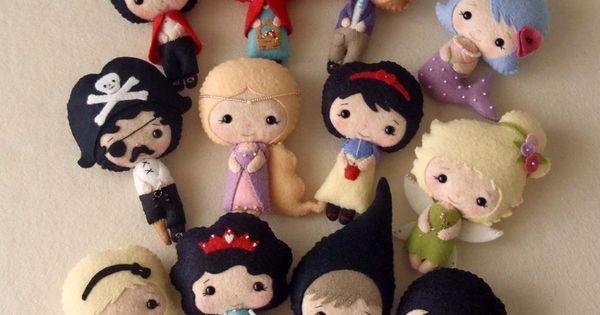 Fairy Tale Felt Dolls pdf Patterns