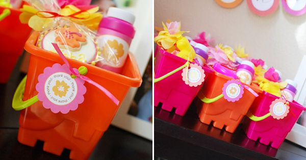 Kids birthday party favors (another idea for the summer party)