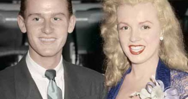 Roddy Mcdowell And Norma Jean Baker Aka Marilyn Monroe Norma