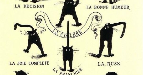 Le Chat Domestique et Son Caractere (The Domestic Cat and his Temper)