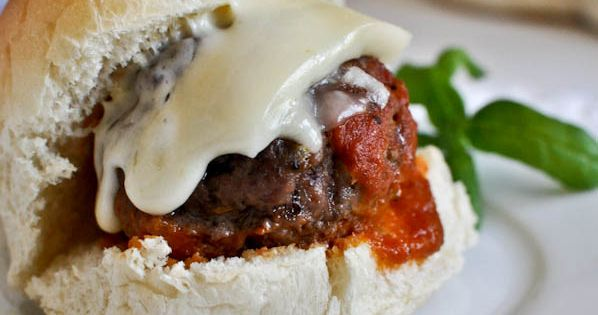 Cheesy Stuffed Meatball Sliders Recipe