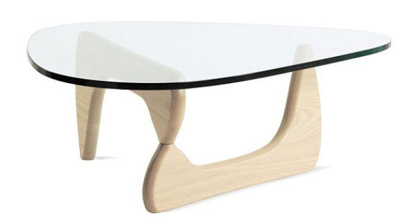Seattle Noguchi Dania Coffee Table Birch Glass Scandinavian Danish Modern 350 Http