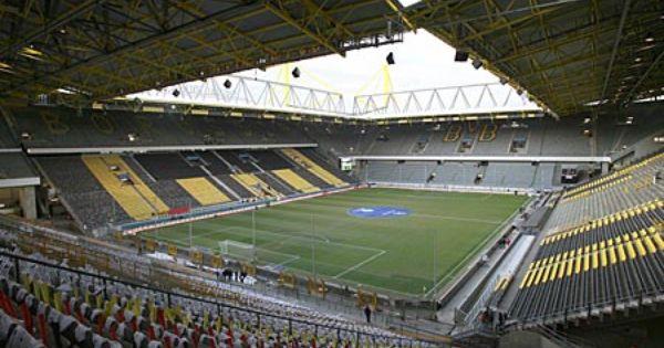 Borussia Dortmund Stadium An Underrated Team But Great Atmosphere Football Stadiums Borussia Dortmund Dortmund