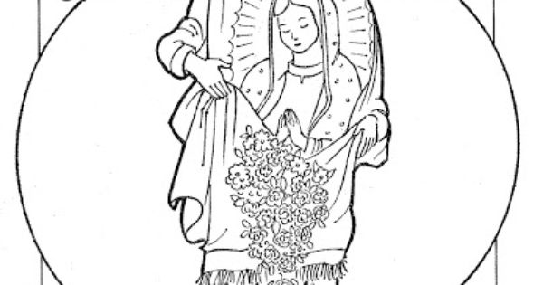 Relevant Radio St Juan Diego Coloring Page