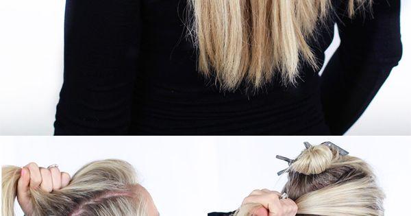 How to Tame Your Hair: Summer Hair Tutorials | Pretty Designs