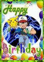 Printable Pokemon Birthday Card In 2019 Pokemon Birthday