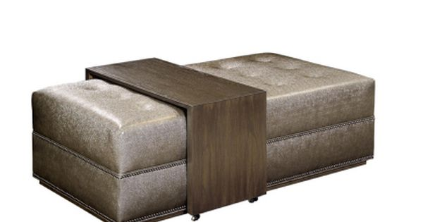Patagonia Home Trading Co Soho Ottoman With Tray Table