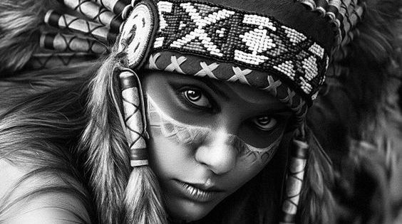 native american girl drawing google search more fashion ideas tattoos pinterest. Black Bedroom Furniture Sets. Home Design Ideas