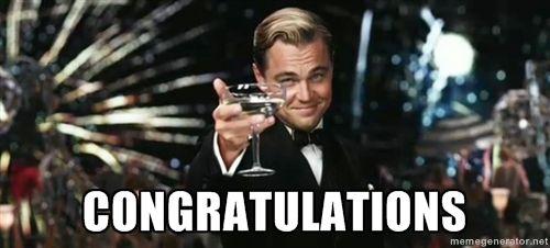 congratulations - Great Gatsby | Meme Generator | The great gatsby ...