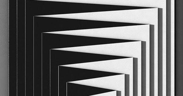 Marcello morandini optical art black and white stripes for Minimal art opere