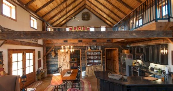 Log cabin inspired open concept house ideas pinterest open concept log cabins and cabin - Cabin floor concept ...