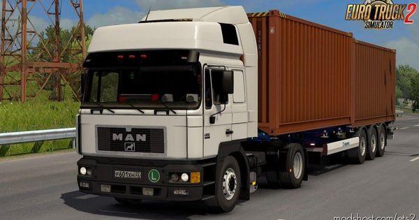 Download Man F2000 414 Comandor Interior Reworked 1 36 X Mod For Euro Truck Simulator 2 At Modshost In 2020 Trucks Man Interior