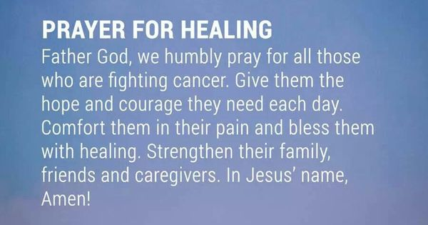Inspirational Quotes To Lift Your Spirit After A Harsh Day: Prayer For Healing