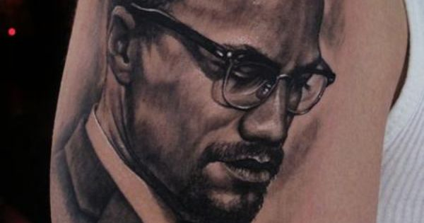 Stefano alcantara malcolm x tattoo inspirations for Malcolm x tattoo