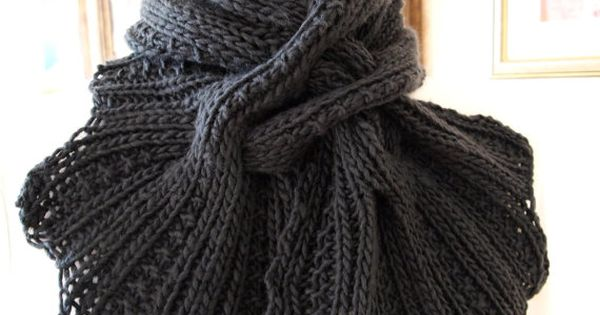 Instant Download pdf Hand Knitting Pattern - Sprigs Scarf | Muster ...