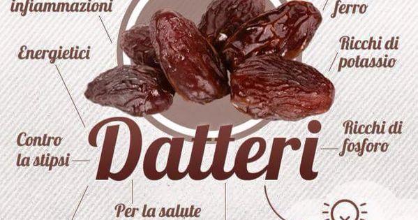 Propriet datteri frutta verdura spezie propriet e for Cucinare x diabetici