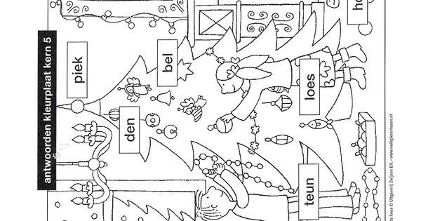 Kleurplaten Kerst Groep 5.Veilig Leren Lezen Kern 8 Kleurplaat Pinterest The World S Catalog