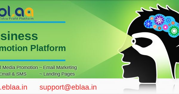 Eblaa Online Business Promotion In One Place Social Media Promotion Email Marketing Bulk Email S Business Promotion Social Media Promotion Bulk Email