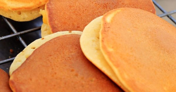 This coconut milk pancake recipe is a good option for the lactose ...