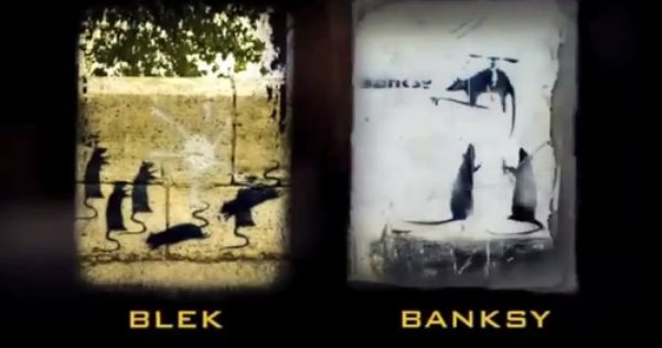 Banksy Vs Blek Paris The Ojays And Father
