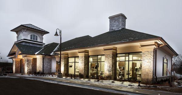 Exterior Of Dentist Office Levinson Dds Modern Tulsa