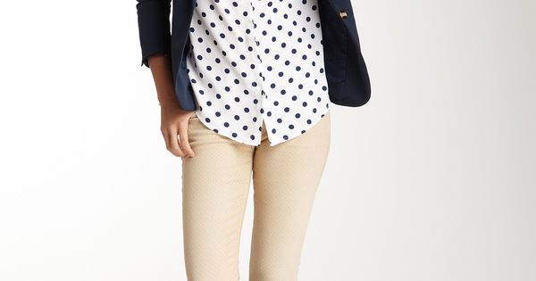 polka dotted tee instead?