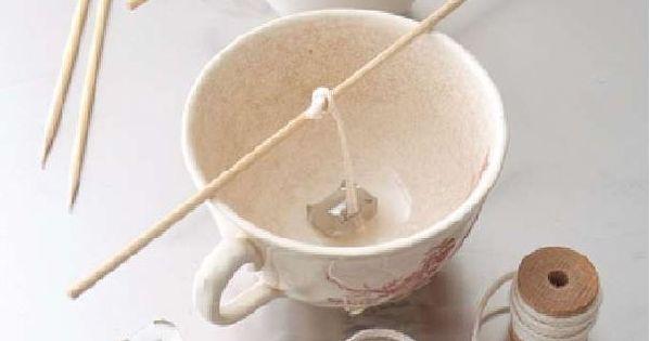 la recette maison pour faire des bougies parfum es naturelles loisir pinterest meche. Black Bedroom Furniture Sets. Home Design Ideas