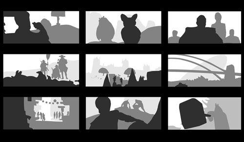 Film Studies: Foreground, Middleground, Background   Foreground  Middleground Background, Negative Space Art, Film Studies