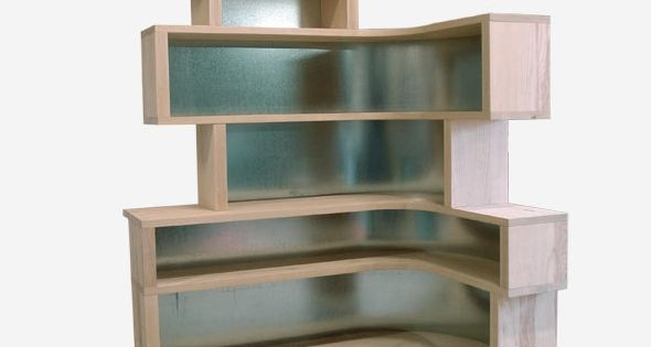 Biblioth que d 39 angle projet 2 pinterest angles for Etagere angle salon