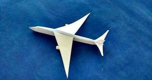 Pin By Bhalani Yagnik On Origami Ideas Origami Plane Origami Paper Plane Origami Airplane