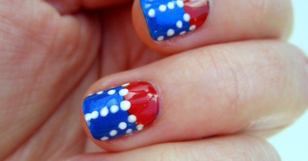 memorial day nail art designs