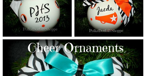 Cheerleading Christmas gifts.