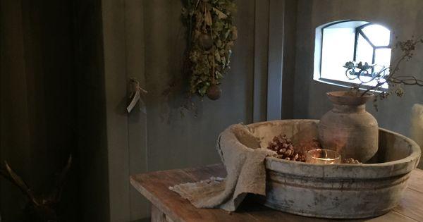 Olijf plukmand landelijk wonen pinterest landelijk wonen huisdecoratie en decoratie - Formele meubilair ...