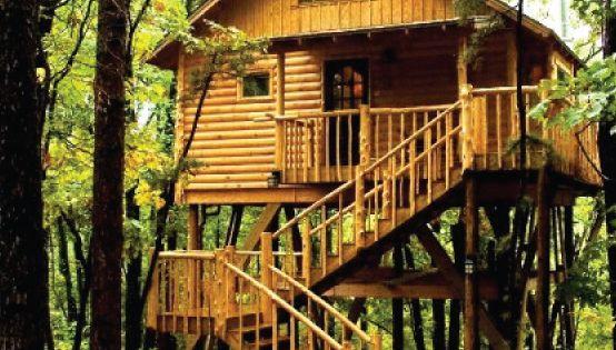 Original Treehouse Cottages Eureka Springs, Arkansas ...