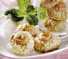Resep Cara Membuat Kue Kering Kacang Mede Tabur Wijen Resep Kue Lebaran Kue Kering Resep Resep Kue