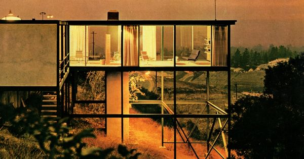 Smith House, Crestwood Hills, Los Angeles, California, 1958 — Craig Ellwood, mid-century