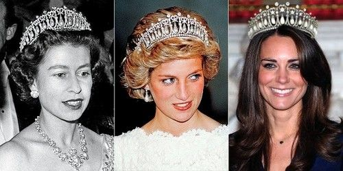 Kate Middleton Given Princess Diana Tiara By Queen Elizabeth Camilla Parker Bowles Jealousy Out Of Control Princess Diana Tiara Lovers Knot Tiara Royal Tiaras