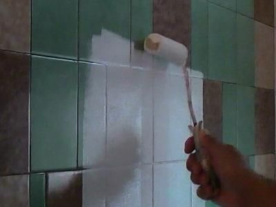 17 Best ideas about Painting Over Tiles on Pinterest   Painting ...