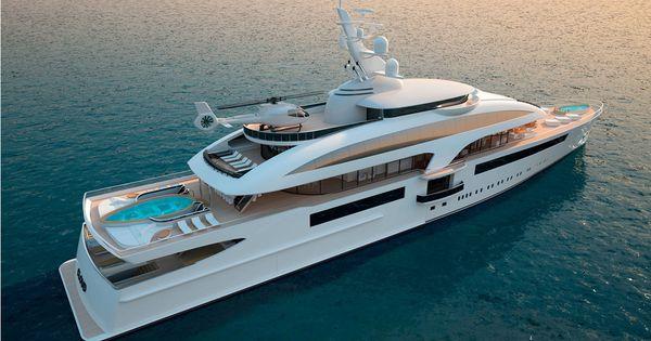Design innovation benetti yachts gentlemen s club