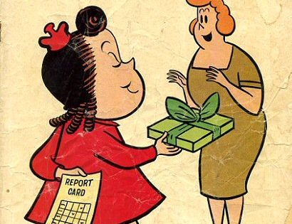 Little Lulu...I remember this one from my grandmother's house. Wondering which of