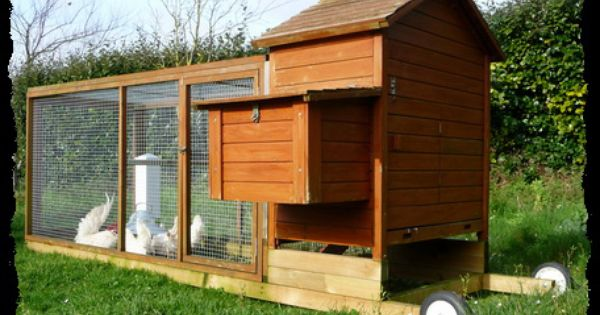 Poulailler mobile chicken tractor la maison des poules - Poulailler maison des poules ...
