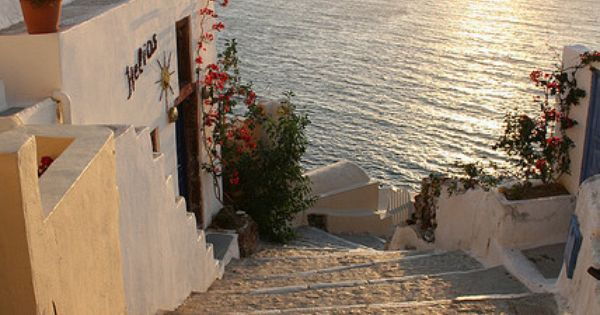 Golden Sunset, Santorini, Greece dream place to visit.