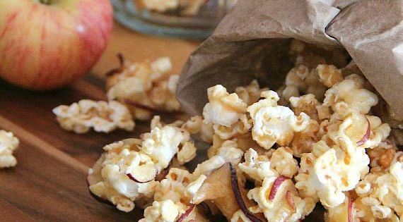 Easy Caramel Apple Popcorn Recipe