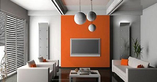 Pareti Grigie E Arancione: Sbiancato come abbinarle a pavimenti pareti ...