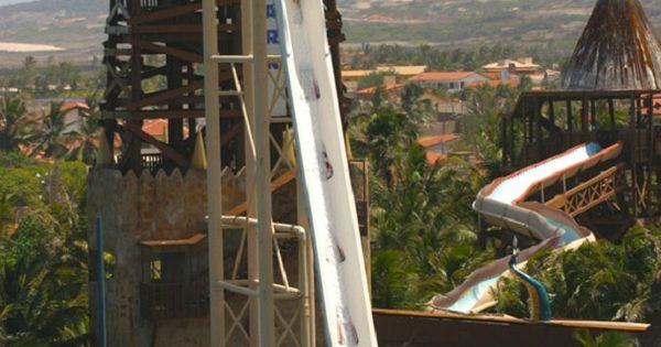 Insano, the worlds tallest water slide in Brazil. Definitely on my bucket